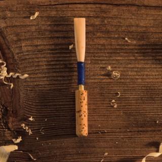 aufgebundenes Rohr für Oboe