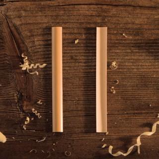 ausgehobeltes Holz für Oboe d'amore