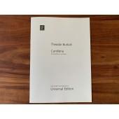 Theodor Burkali: Cantilena für Englisch Horn und Oboe