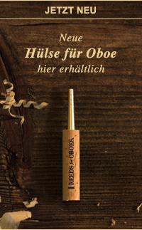 Neue Hülse für Oboe im Shop